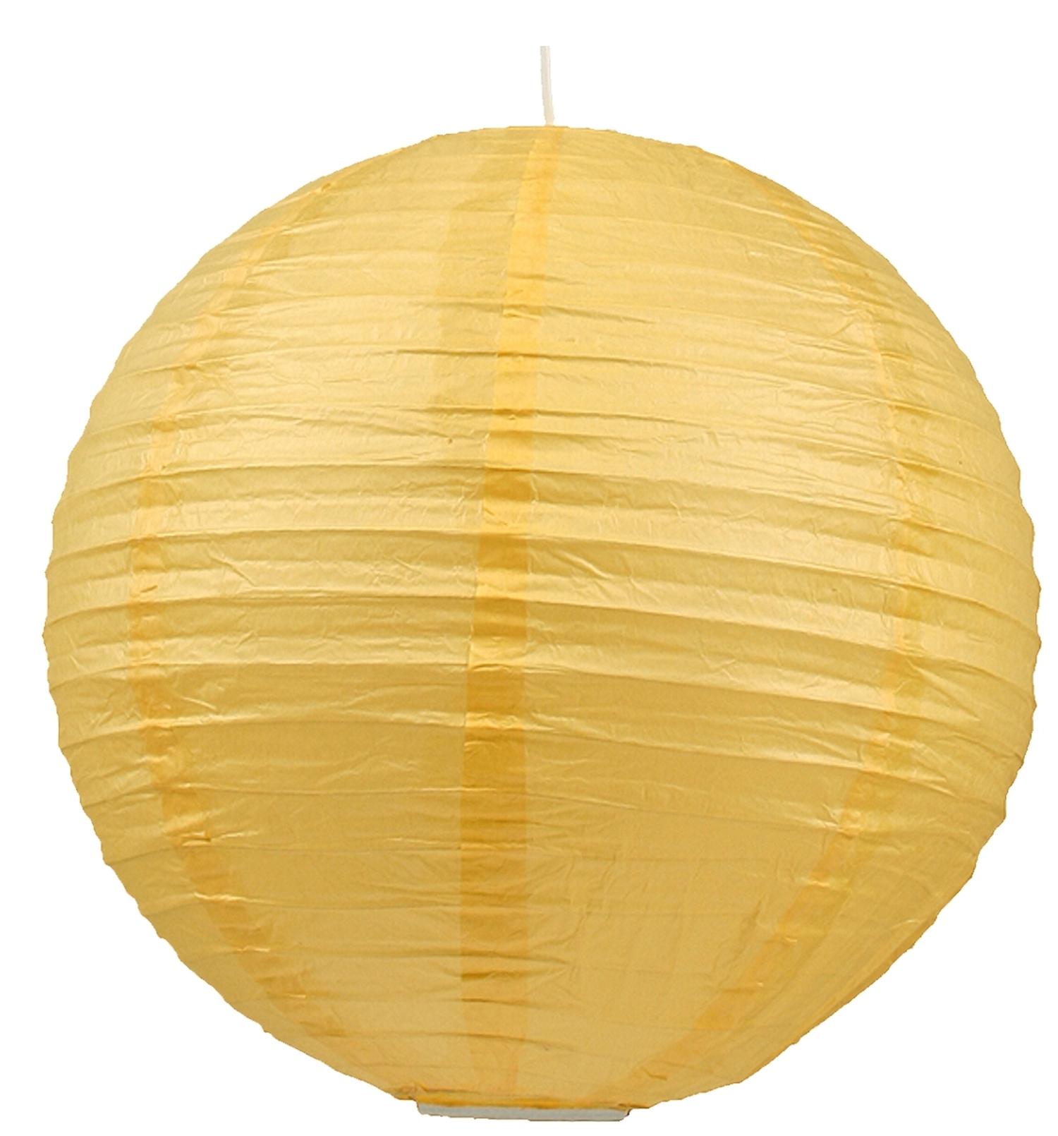 Abażur Papierowy Kokon Kula Papierowa żółty 31 88218 Candellux