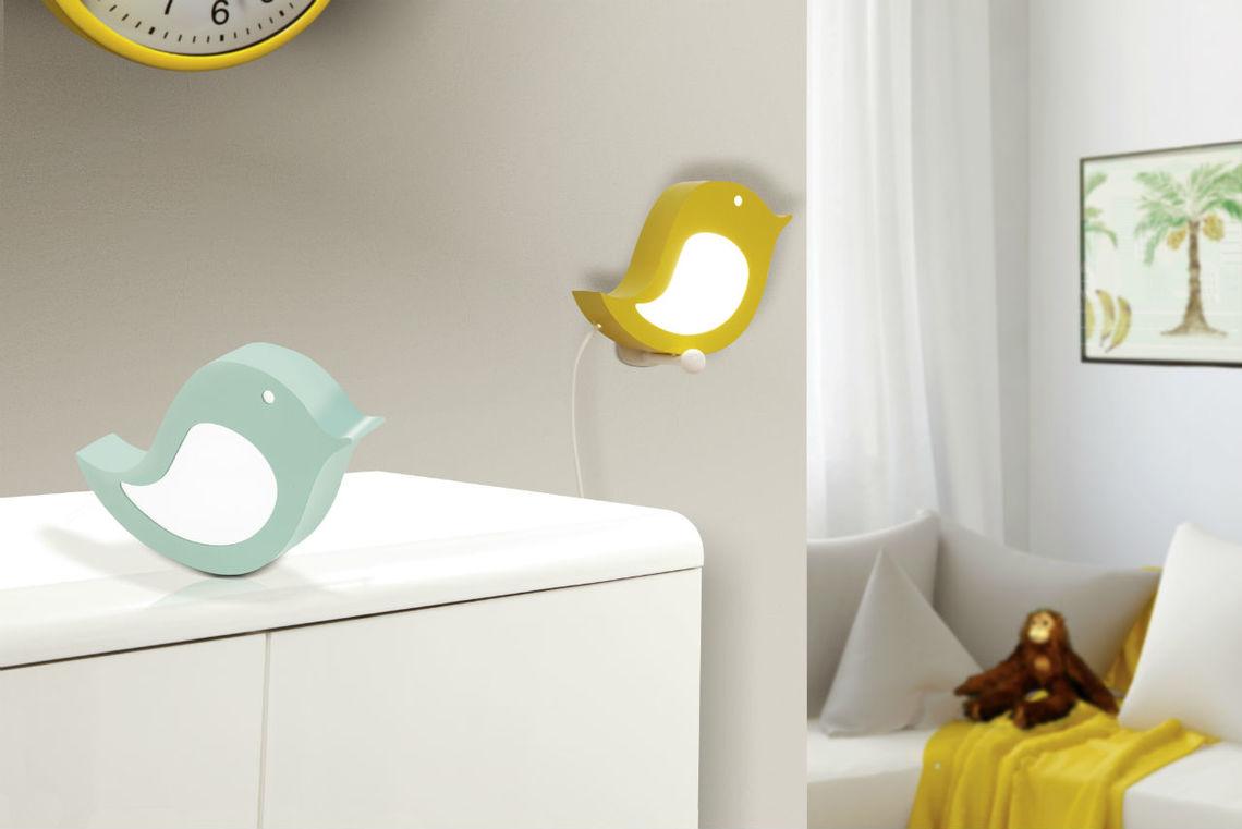 Oświetlenie Pokoju Dziecka Sparino Kinkiet I Lampka